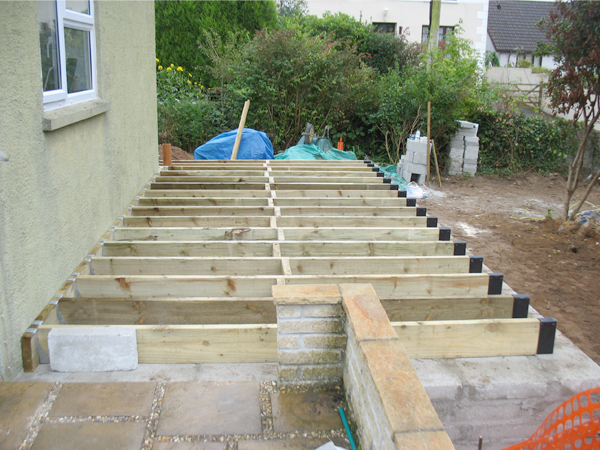 how to build a flat roof extension